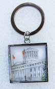 Ohio Winter Statehouse Key Chain