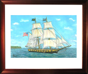 U.S. Brig Niagara on Lake Erie Limited Edition Print