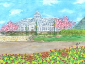 Franklin Park Conservatory in the Spring